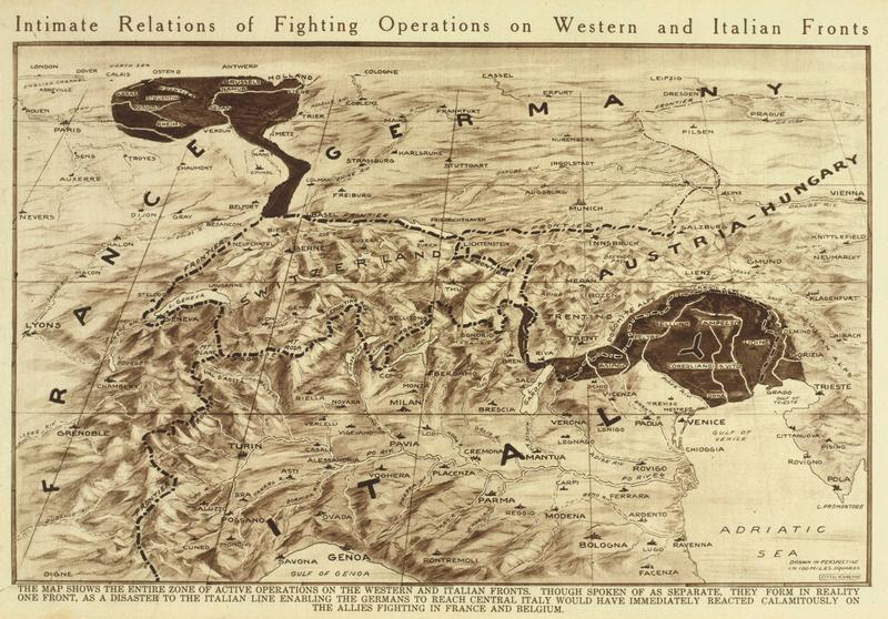 Maps of wwi italian front 1919 bg from lc gumiabroncs Images