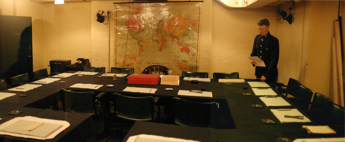 Churchill 39 s cabinet war rooms - Churchill war cabinet rooms ...
