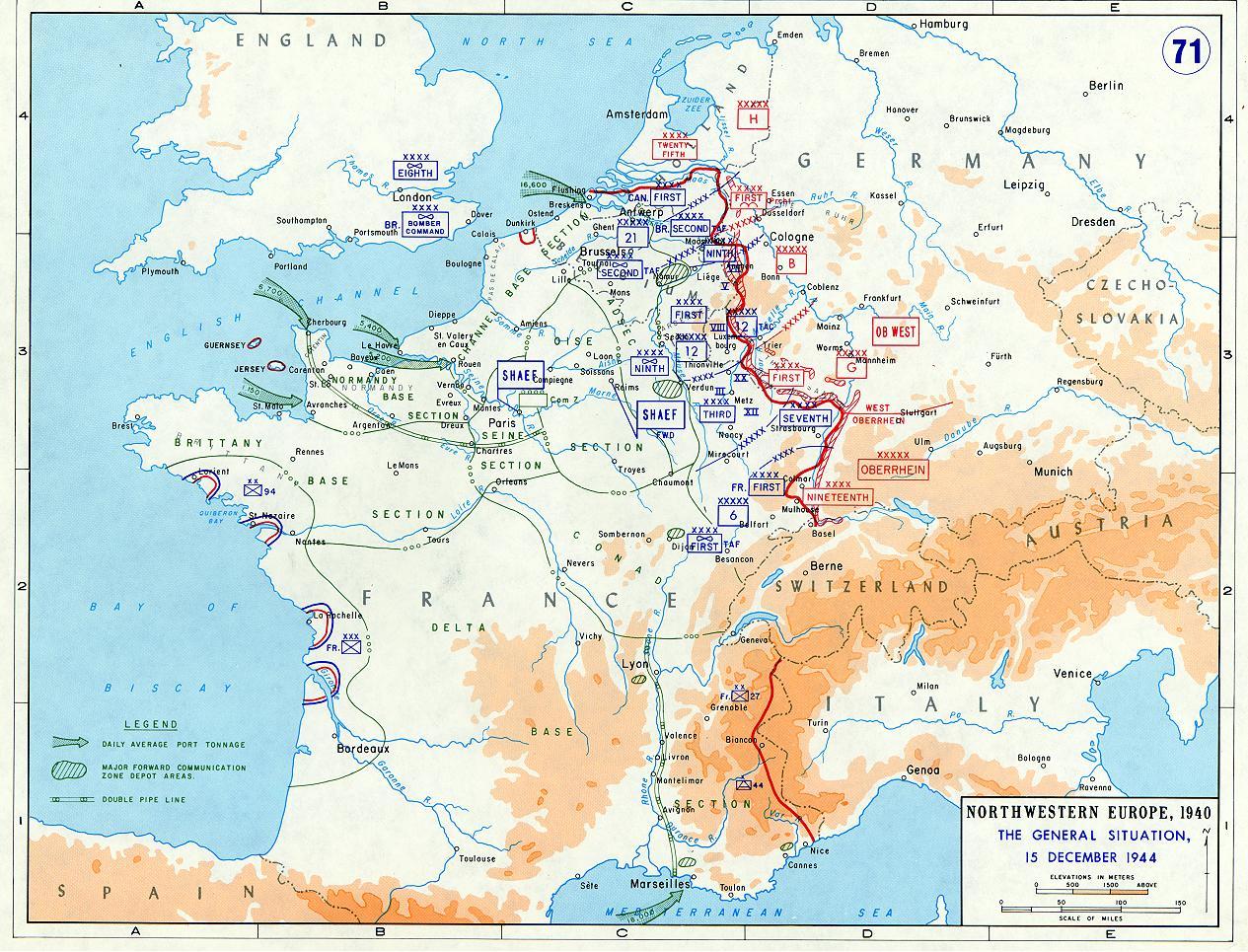 Battle Of France Ends 1944