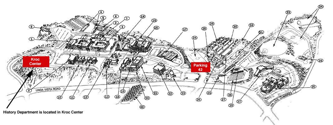 Usd Campus Map