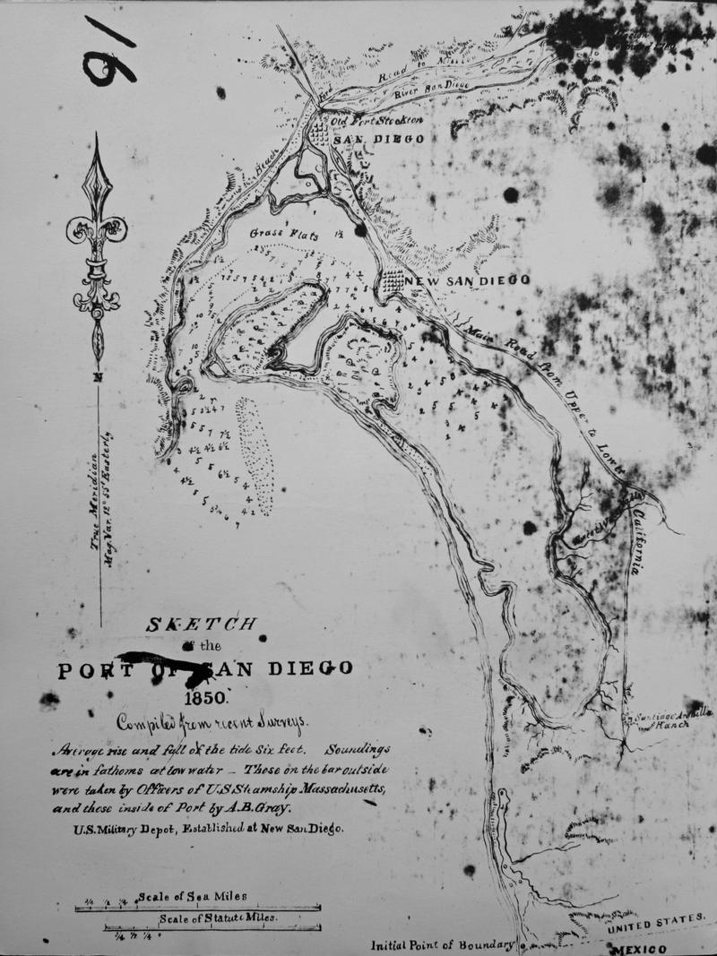 Historical Maps Of San Diego