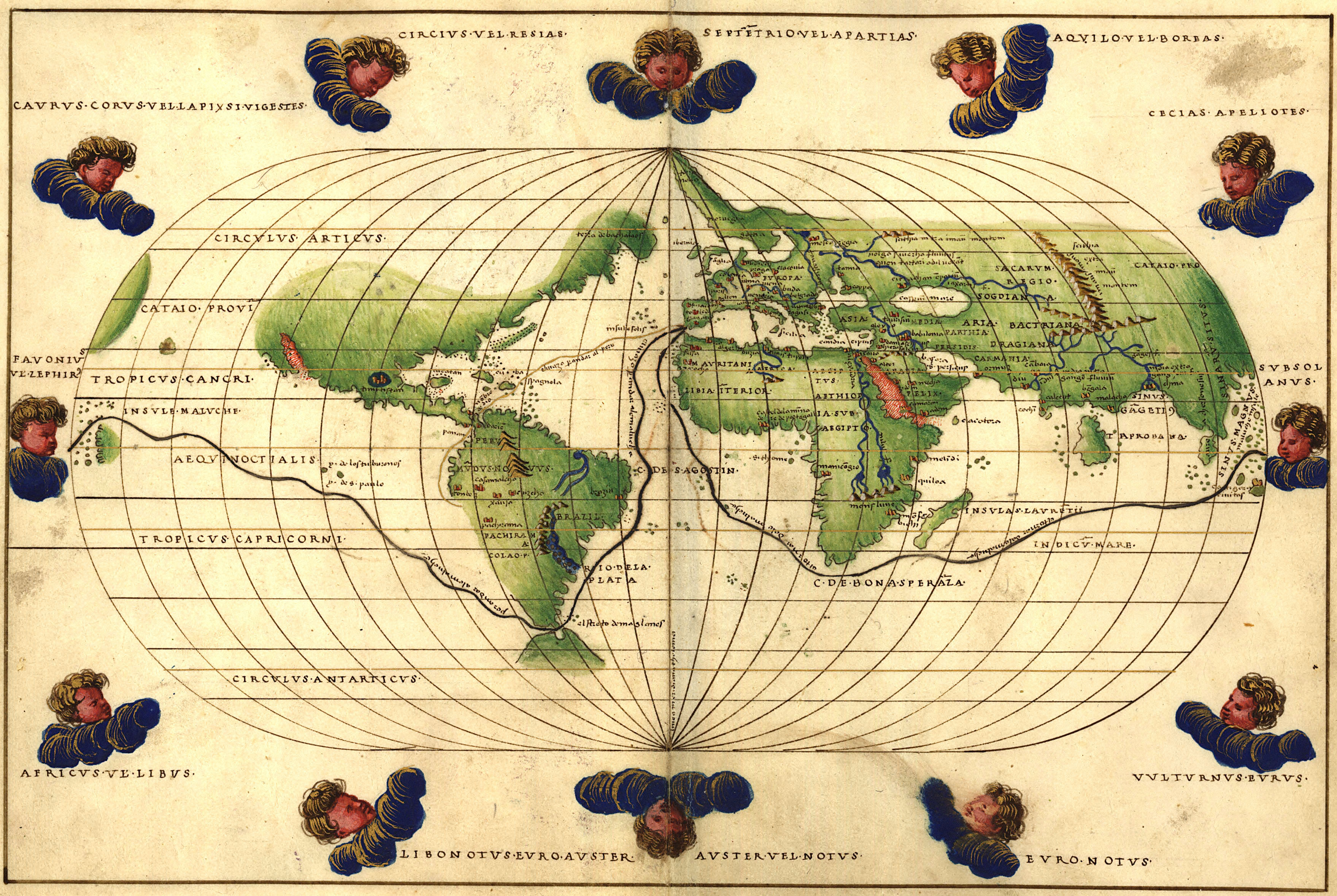 Map Of Europe In The 1500s.Maps Of Early Colonial America 1500s
