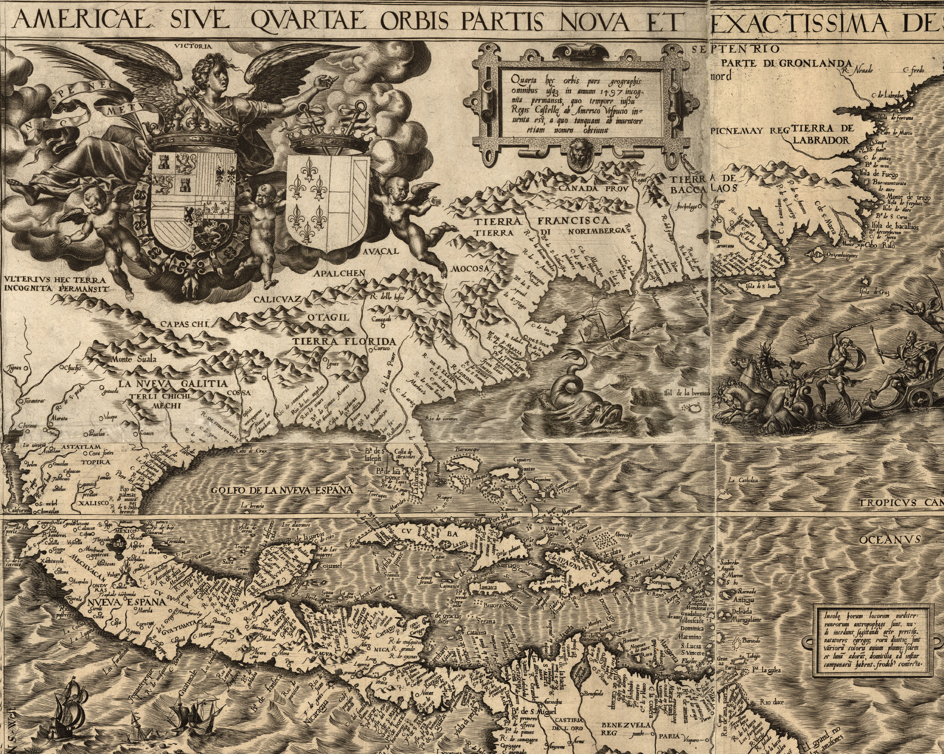 Maps Of Early Colonial America S - Early maps of america