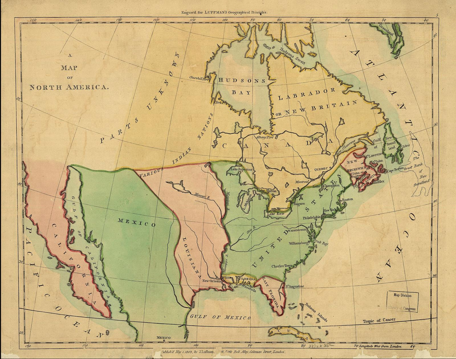 Maps of 19th Century America  Usa Map on