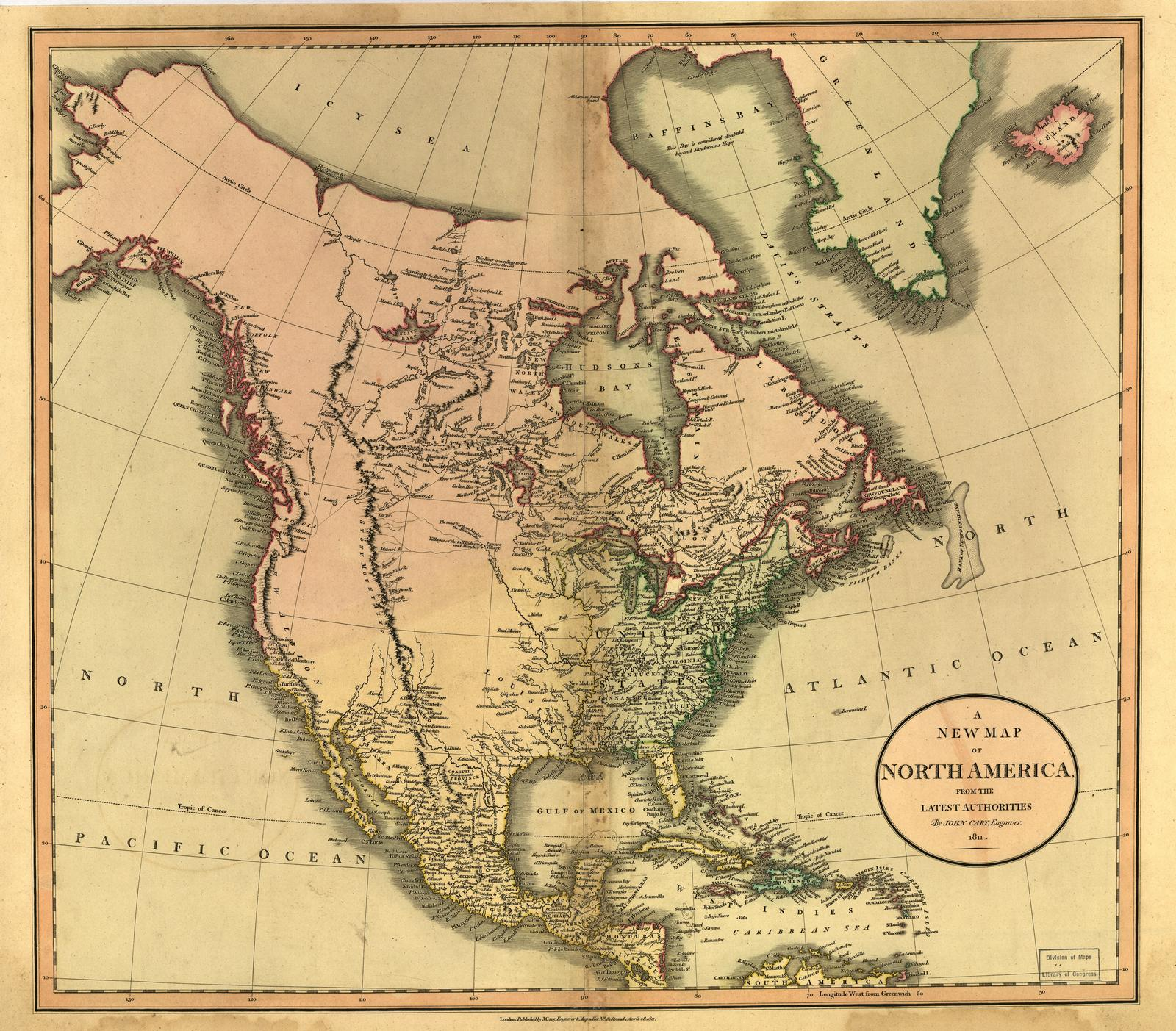 Map Of Us 1800s.Maps Of 19th Century America