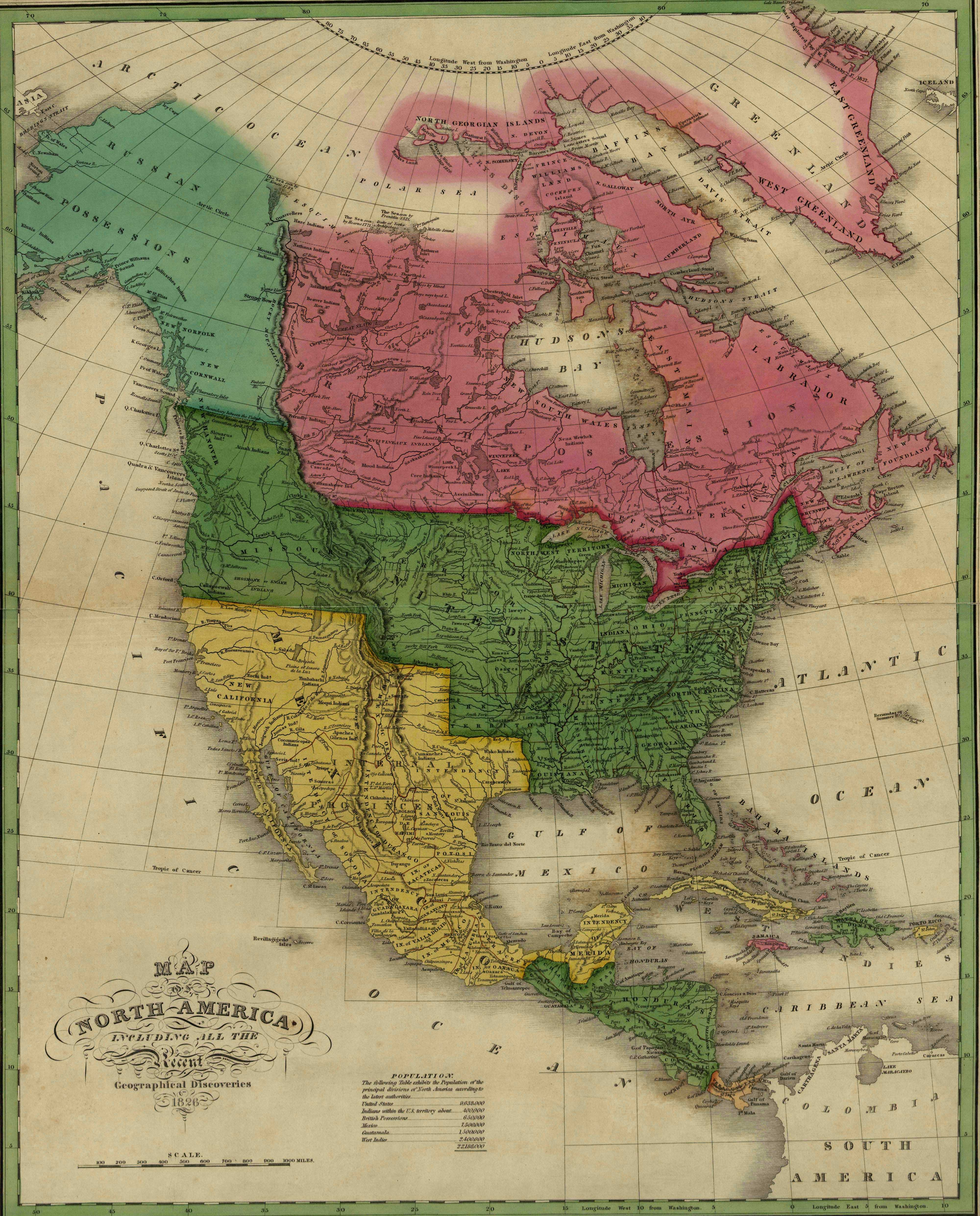 Map Usa Louisiana%0A Maps of   th Century America