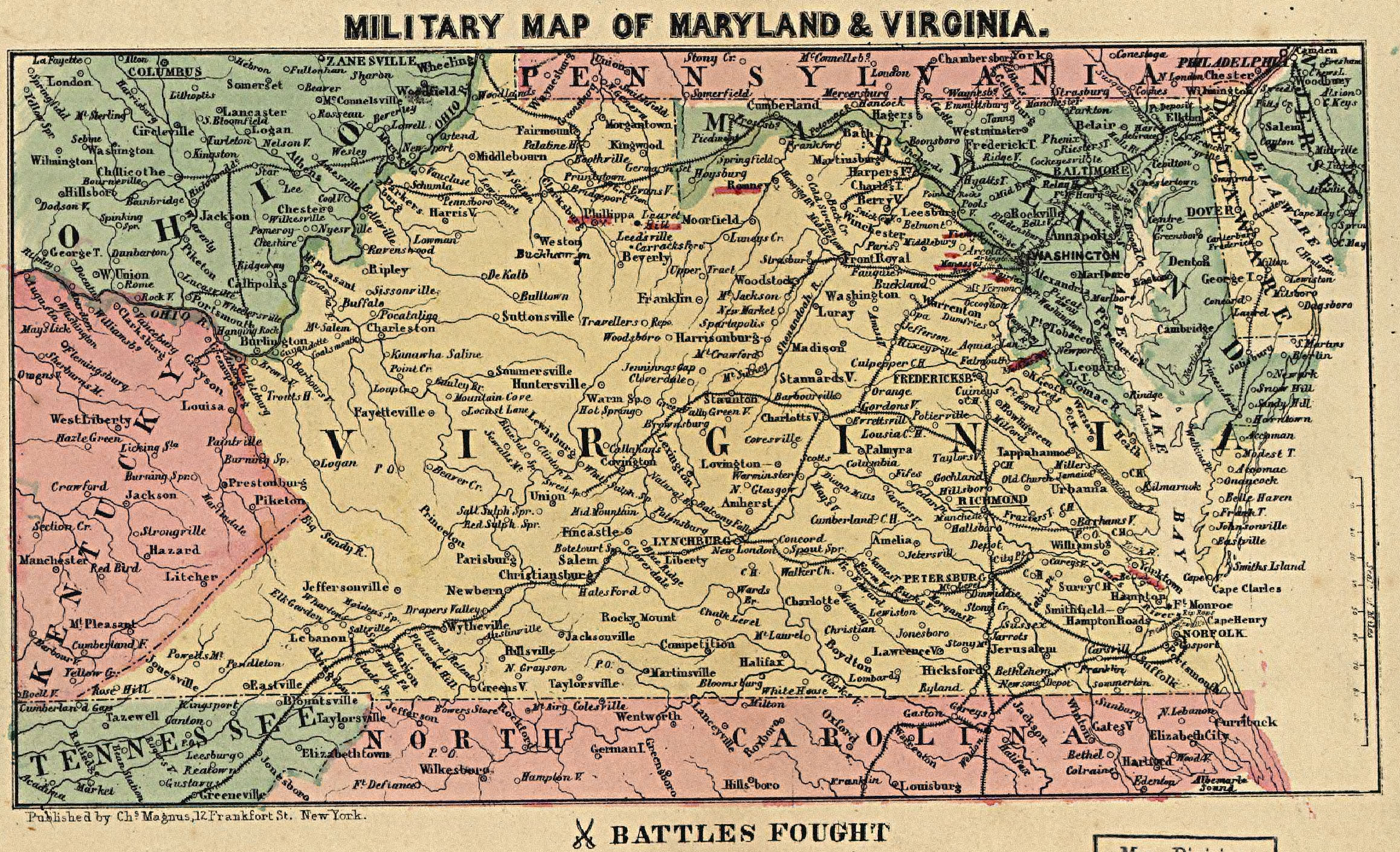 Maps Of The Civil War Era 2