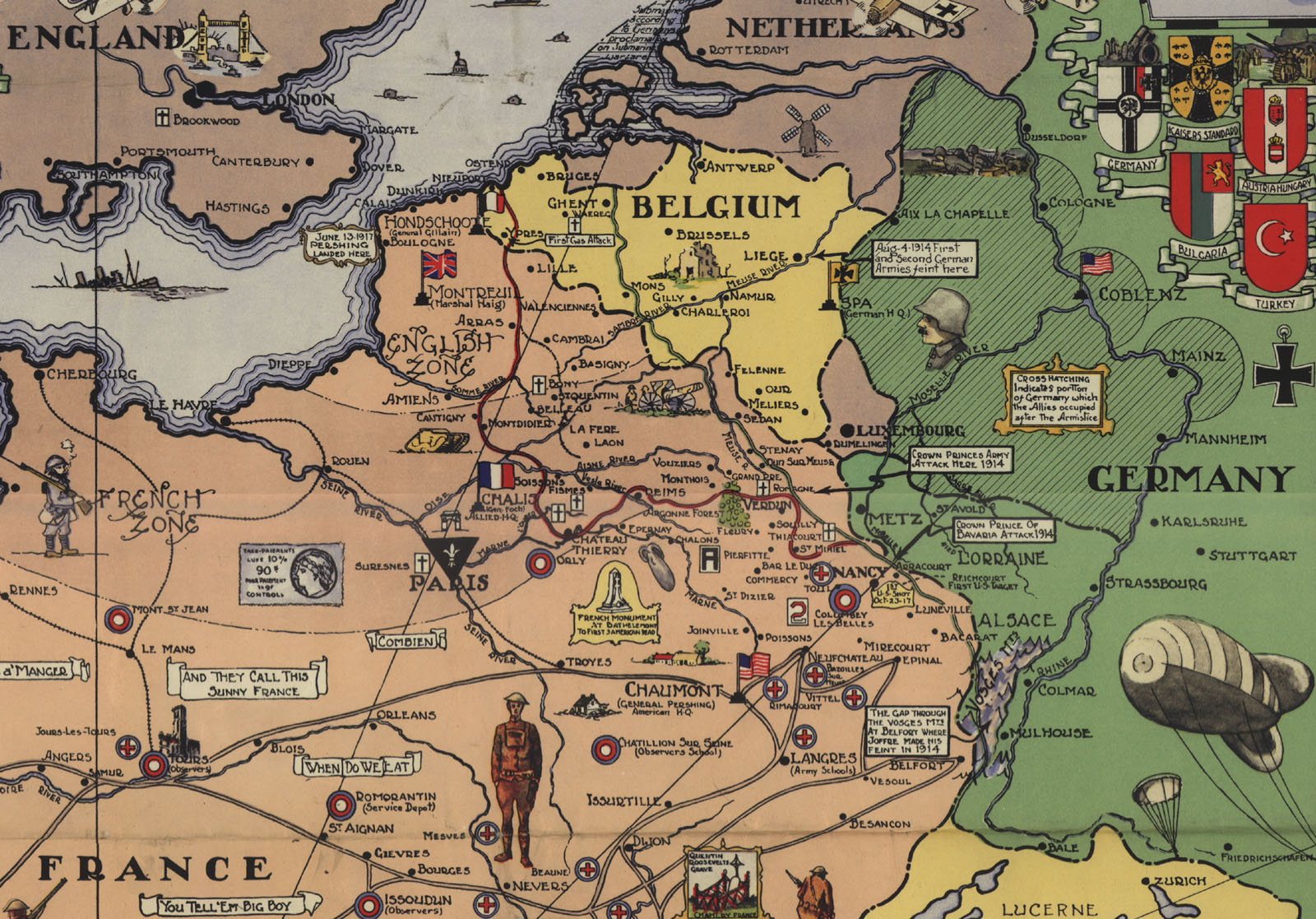 map . maps of wwi