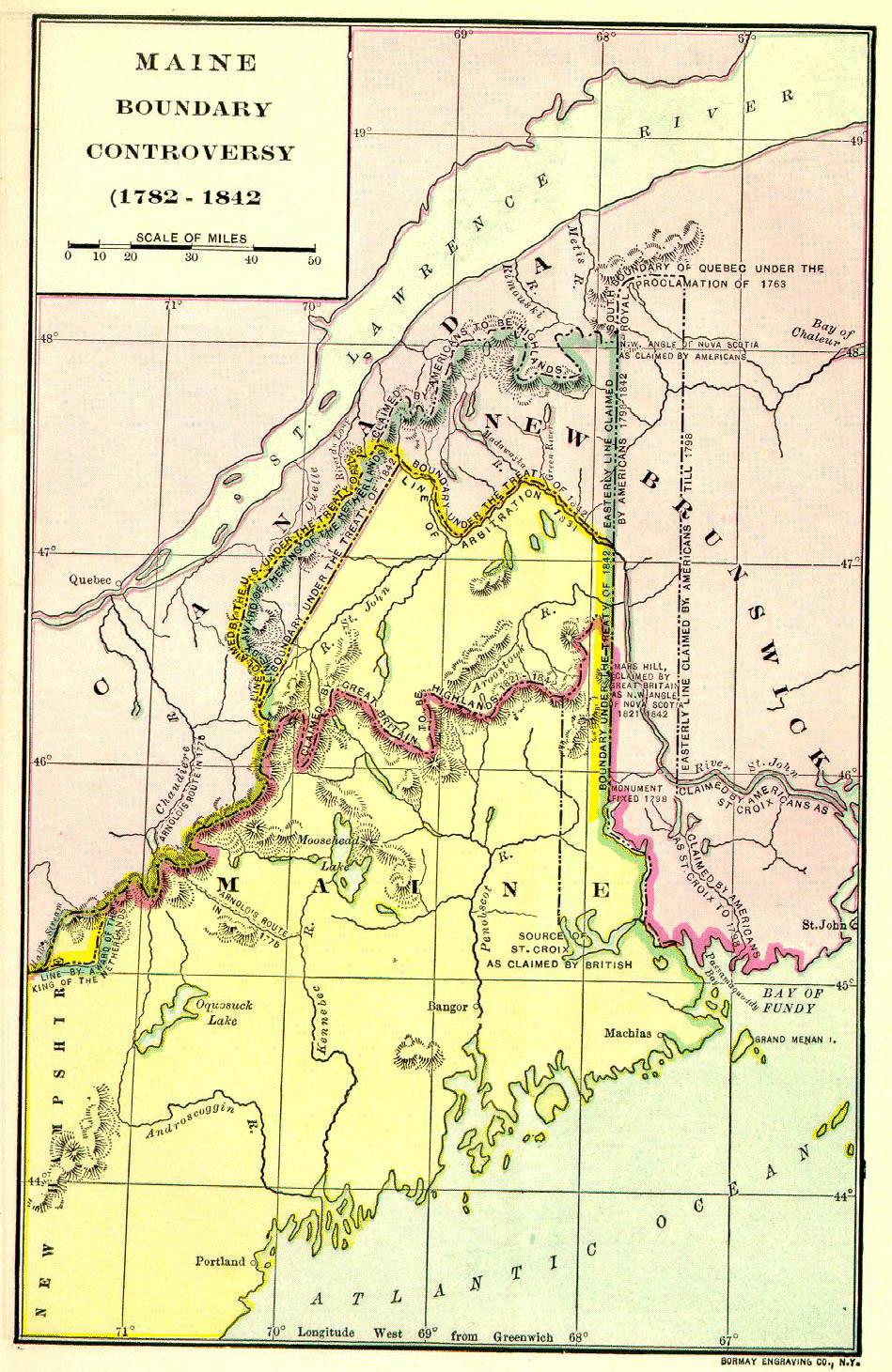 Daniel Webster The Ashburton Treaty